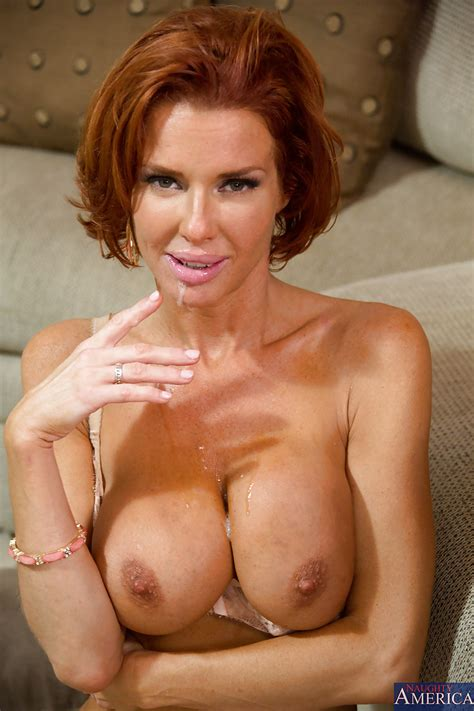 Decent Redhead Milf Veronica Avluv Ts Her Best Blowjob