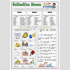 25+ Best Ideas About Collective Nouns Worksheet On Pinterest  2nd Grade Grammar, Teaching