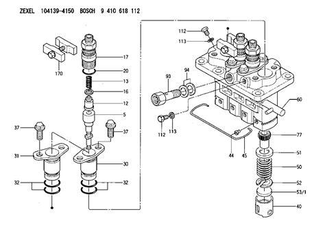 Kubota Fuel Pump Diagram Engine Wiring