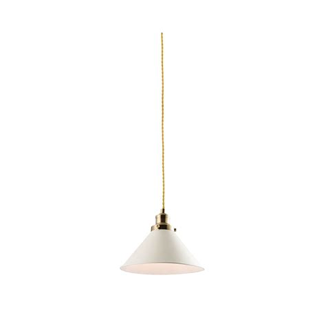 endon downton modern ceiling pendant light in white finish
