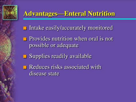 Ppt Introduction To Enteral Nutrition Powerpoint