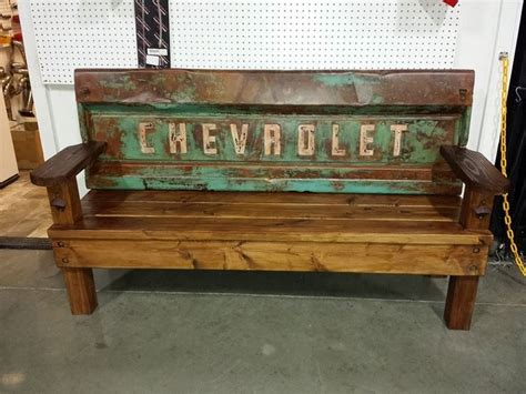 Chevy Tailgate Bench  I Need This!  Pinterest Chevy