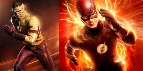 The Flash Concept Art Reveals Kid Flash, The Rival & Black