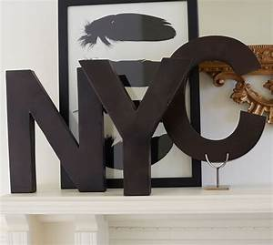 metal letters bronze pottery barn With bronze metal letters