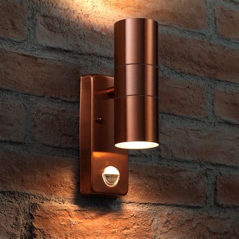 auraglow pir motion sensor stainless steel up
