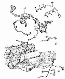 2012 Chrysler Town  U0026 Country Wiring  Engine  Complete