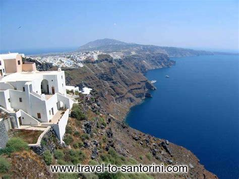 Fira View Fira View From Agios Georgios In Imerovigli