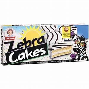 Little Debbie Snacks Zebra Cakes, 5ct: Snacks, Cookies ...