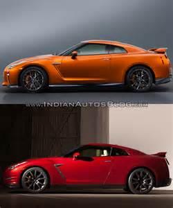 Nissan GT-R 2015 vs 2017