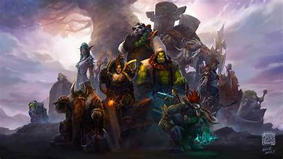 Warcraft 4k Characters Games