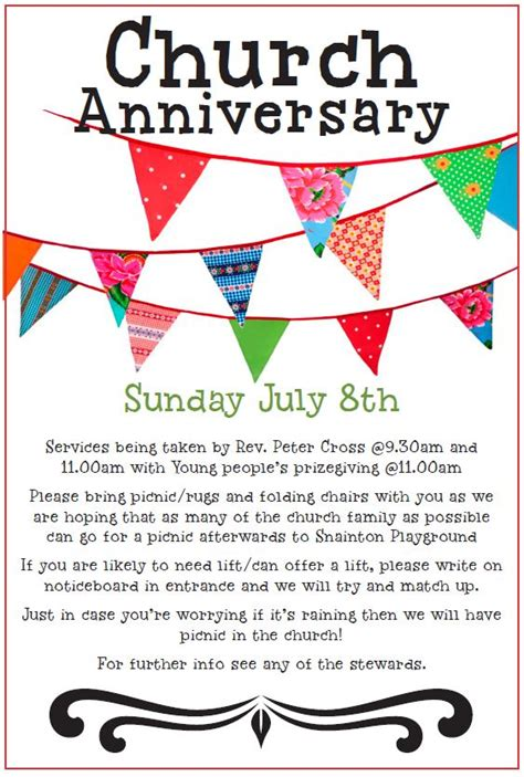 Free Anniversary Poem Picture by Inspirational Church Anniversary Poems