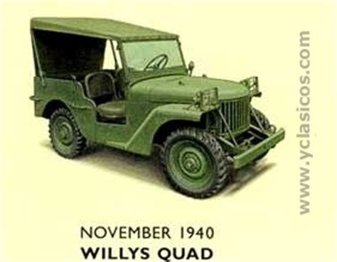 willys quad historia jeep willys i parte bantam ford rally 4x4
