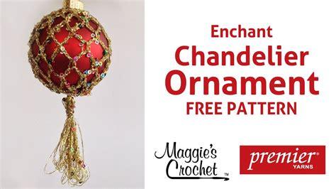 enchant christmas ornament  crochet pattern