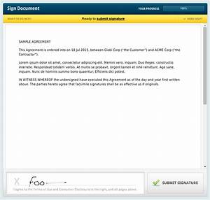 creating a contract in podio and sending it via rightsignature With sign documents email