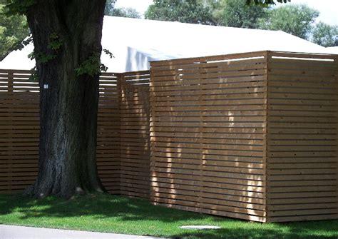 Einfacher Sichtschutz, Trennwand Aus Holz Horizontal