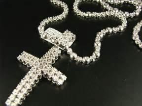 Diamond Gold Cross Chains for Men
