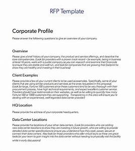 rfp template 7 download documents in pdf word With request for bids template