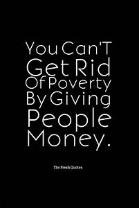 Poverty Quotes ... Food Poverty Quotes