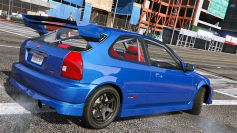 Gta 5 Honda Civic Type-r (ek9) Mod