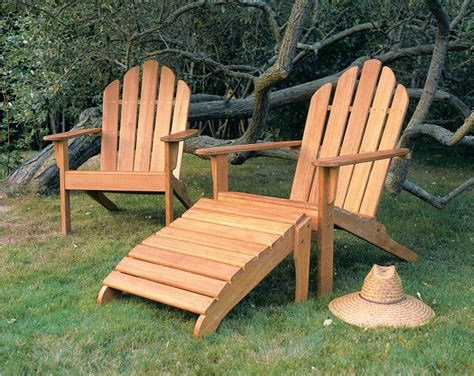 fascinating teak adirondack chair and ottoman resin