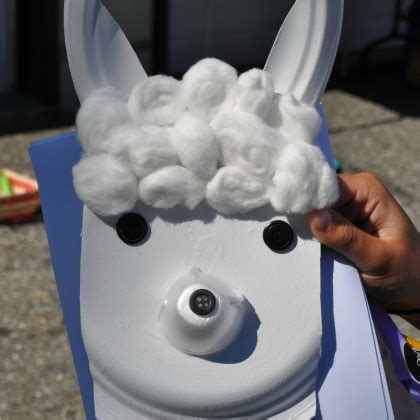 creative cotton ball crafts  preschoolers
