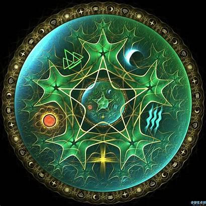 Pentacle Pagan Deviantart Pentagram Wiccan Digital Yule