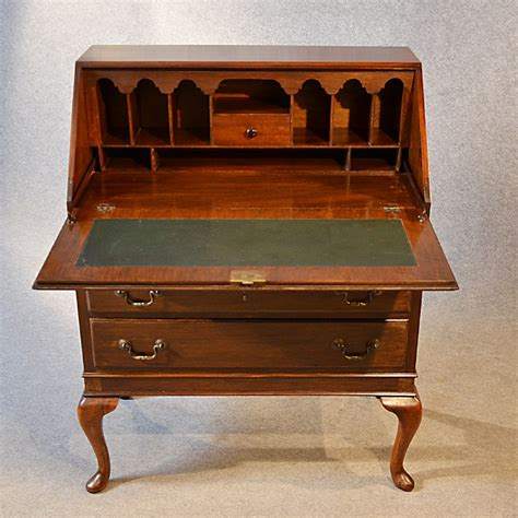 antique writing desks uk antique bureau writing desk mahogany edwardian
