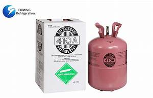 China R410a Refrigerant Gas In Bulk Iso Tank For Ac Refrigeration