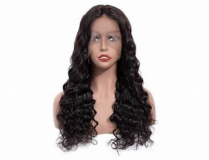 Loose Hair Deep Wig Lace Natural Frontal