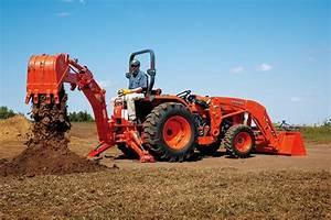Kubota L3800 Hd Tractors Specification