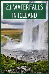 Iceland Waterfall List