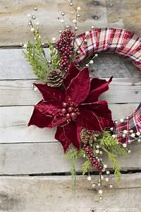 40, Diy, Christmas, Wreath, Ideas, -, How, To, Make, A, Homemade, Holiday, Wreath