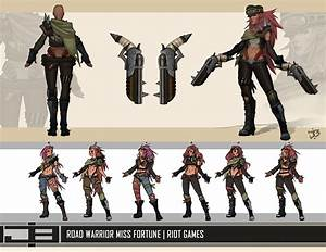 ArtStation - Road Warrior/Wasteland Miss Fortune Asset ...