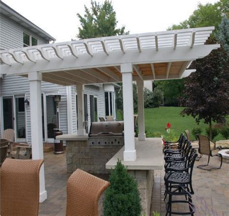 pergola design ideas pergola roof ideas most recommended design white stained finish wooden
