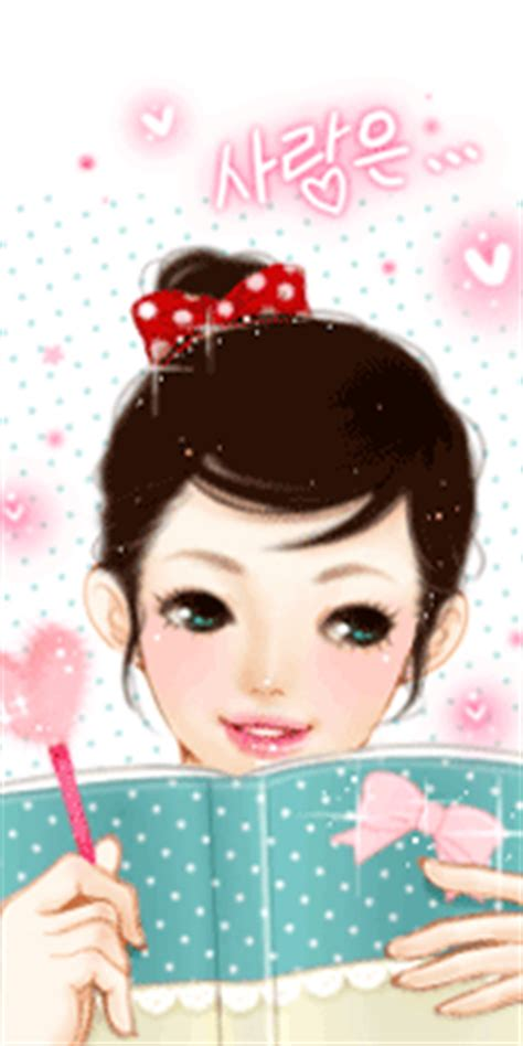 foto anime korea romantis kumpulan gambar anime korea yang cantik animasi korea