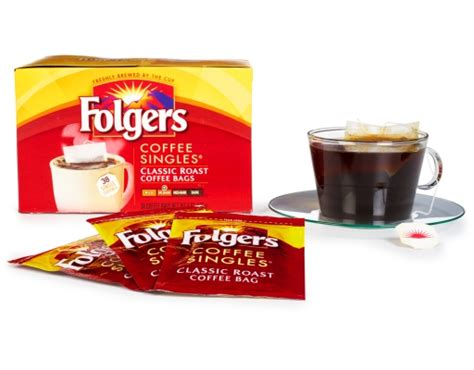 Folgers coffee is a brand of coffee produced in the united states, and sold there, in asia, canada and in mexico. Boxed.com : Folgers Coffee Singles 38 Count - Classic Roast