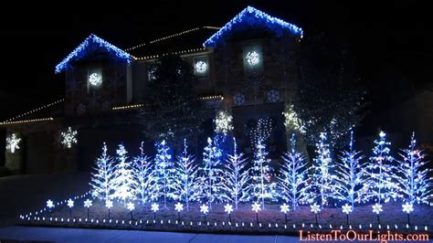 frozen inspires texas family s christmas lights red