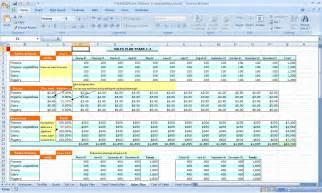 Worksheet Accounting Excel Funding Plan 3 3 Free