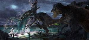 New Jurassic World concept art paints a very different ...
