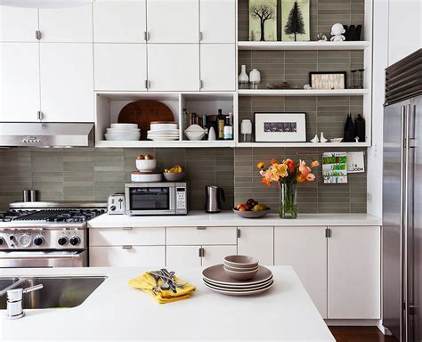 kitchen cabinets with open shelves 10 gorgeous takes on open shelving in kitchens 8185