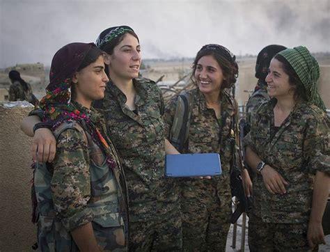 mideast valkyries  daesh  scared  kurdish