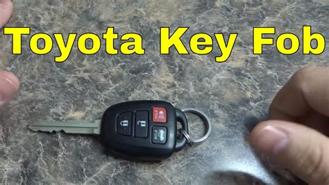 replace  toyota key fob battery corolla camry
