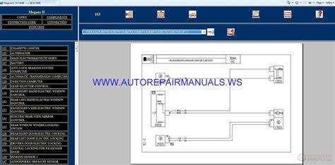 renault megane ii x84 nt8299 disk wiring diagrams manual