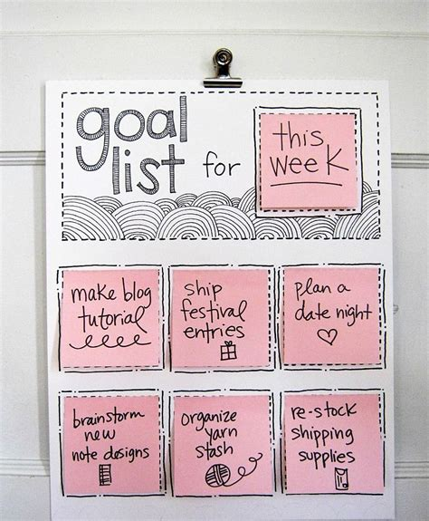 Diy To Do List Template by Diy To Do Lists That Will Totally Motivate You