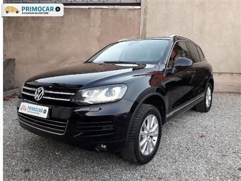 volkswagen touareg occasion volkswagen touareg 3 0 v6 tdi 240ch fap carat edition tiptronic occasion pas cher primocar