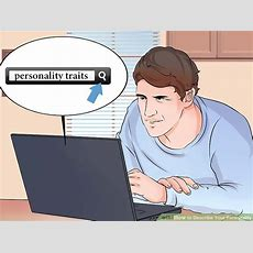 How To Describe Your Personality (with Pictures) Wikihow