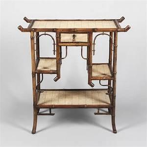 Petite Table D Appoint : petite table d 39 appoint en rotin et bambou vers 1900 ~ Farleysfitness.com Idées de Décoration