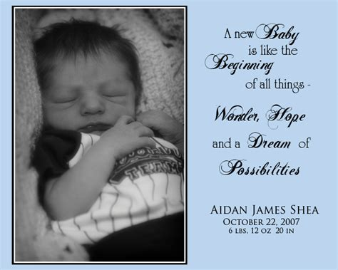 new born baby boy welcome quotes