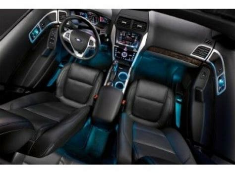 oem stock ford factory interior ambient color colors light