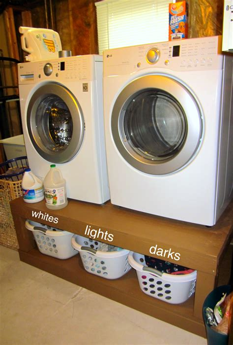 washer dryer pedestal diy best diy aka my awesome laundry pedestals eat